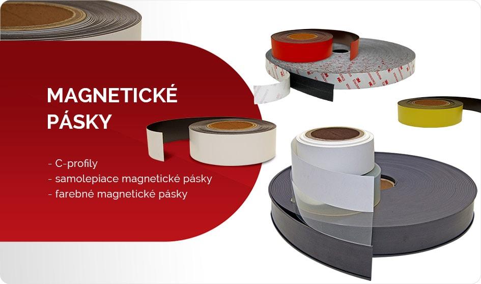 Magnetické pásky a C-profily