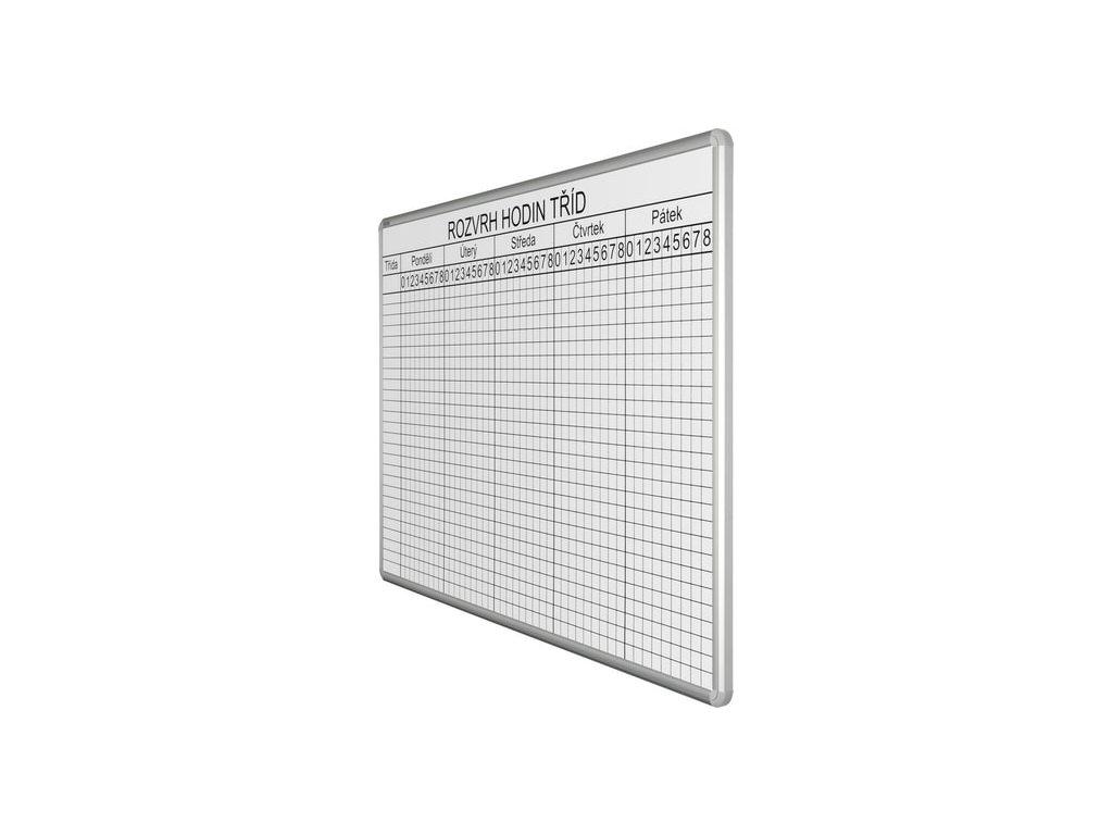 Rozvrhová tabuľa 70x100 cm