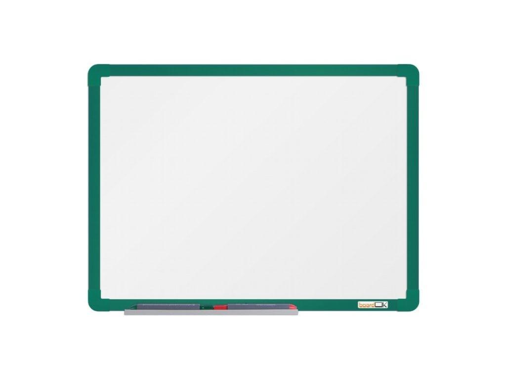 Emailová tabuľa ramček zelený 60x45 cm
