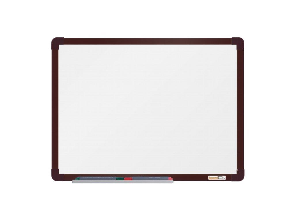 Keramická tabuľa ramček hnedý 60x45 cm