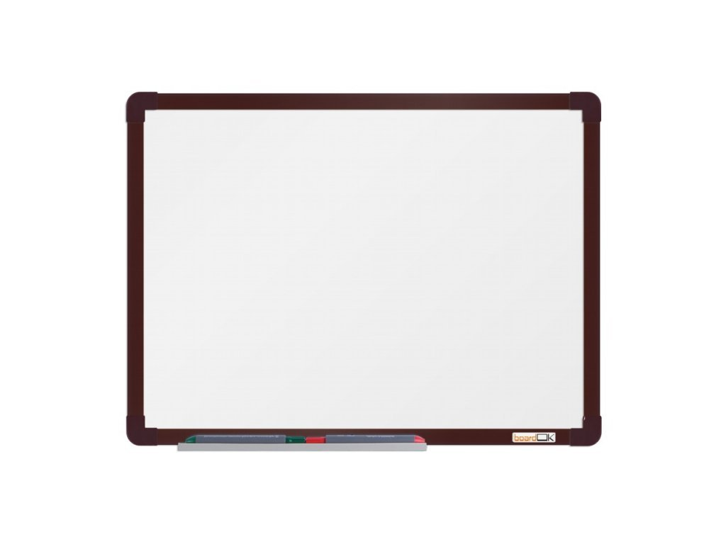 Keramická tabuľa ramček hnedý 60x90 cm