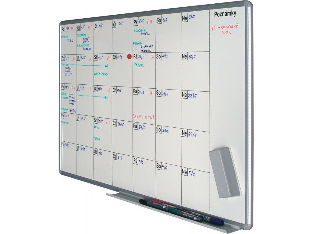Plánovacia tabuľa PK K 70x100 cm - mesačná