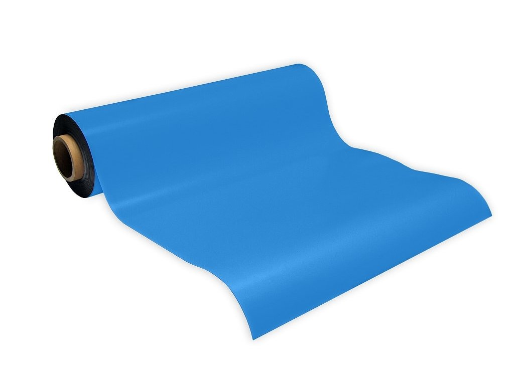 Magnetická fólia modrá (hr. 0.7 mm)
