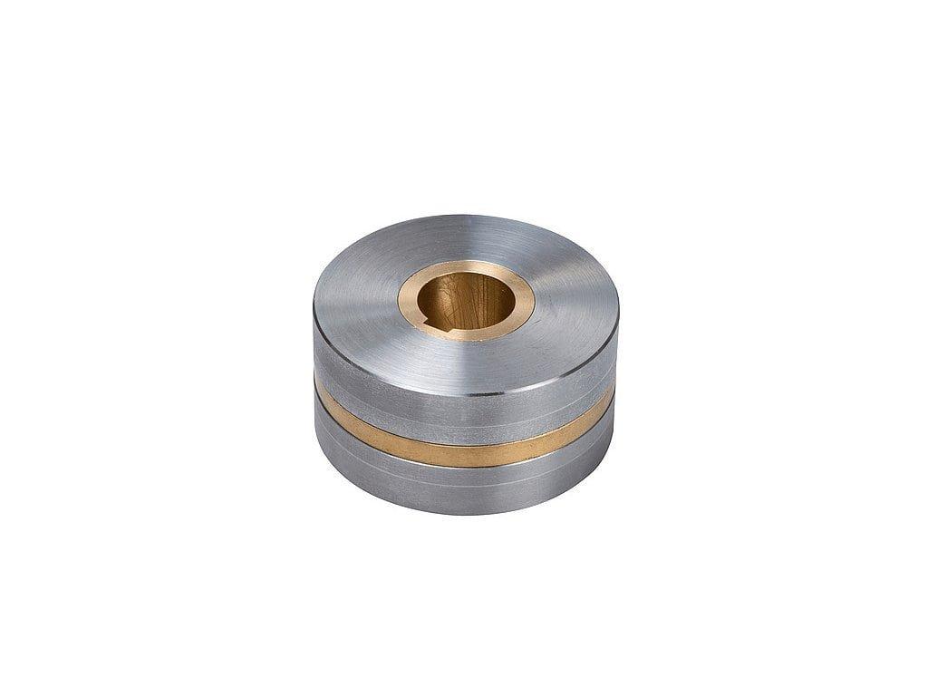 Neodymové magnetické kolo dipólové so stredovou dierou a drážkou