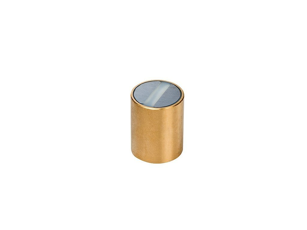 Samariová magnetická šošovka mosadzná s toleranciou h6 25x35 mm