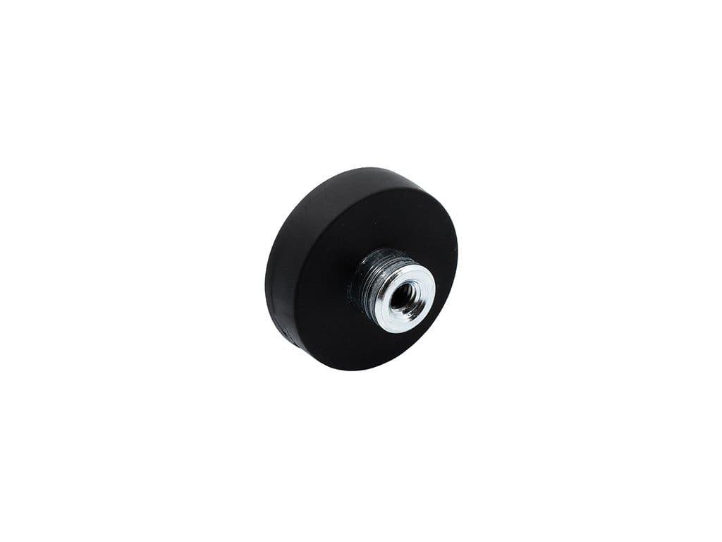 4604 3 neodymovy pogumovany magnet se zavitovym pouzdrem 12x14 8x7 mm