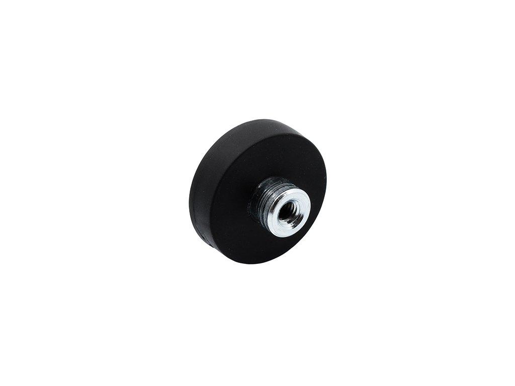 4622 3 neodymovy pogumovany magnet se zavitovym pouzdrem 66x15x8 5 mm