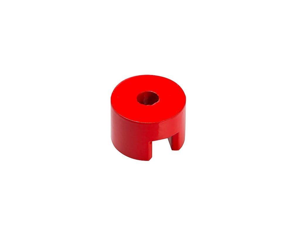 AlNiCo magnetická podkova valcová so stredovou dierou