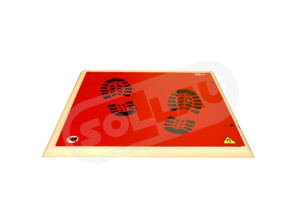 Magnetická rohož MM-P 500x500 N