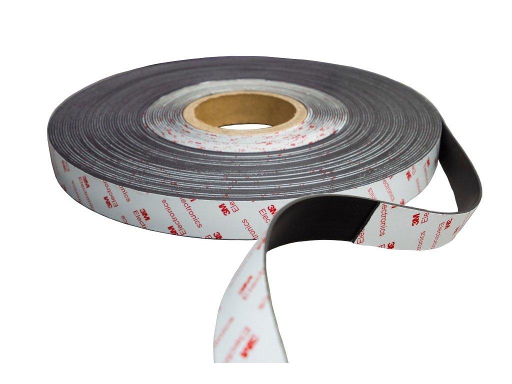 Magnetické pásky samolepiace 3M s opačným pólováním