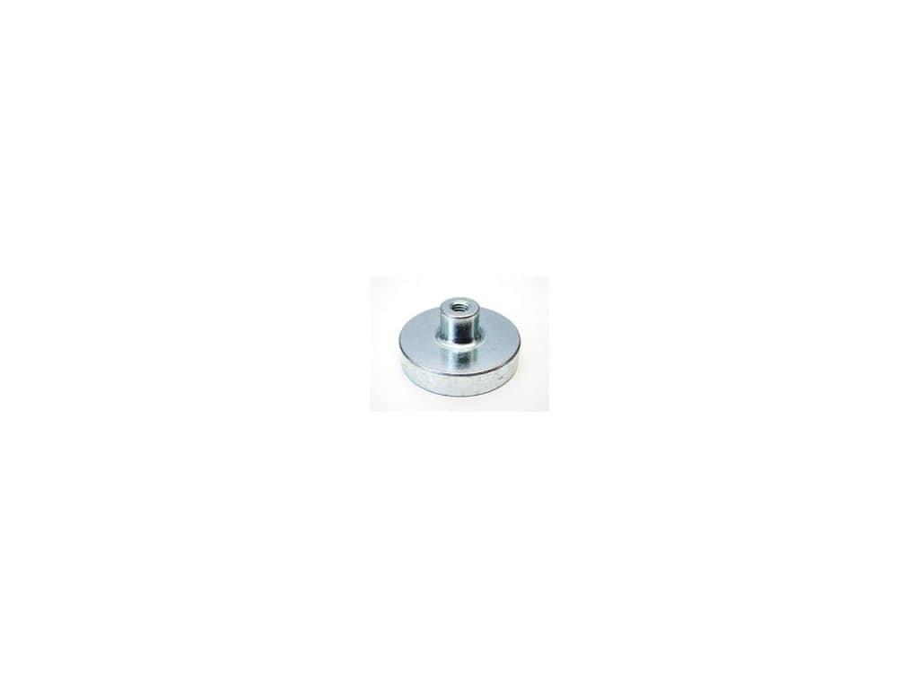Samariová magnetická šošovka so závitovým puzdrom 20x13x6 mm