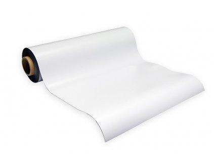 Magnetická fólia biela lesklá (hr. 0.7 mm)