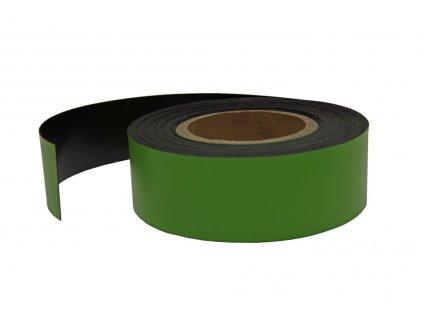 Magnetický pásek zelený