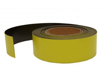 Magnetický pásek žlutý