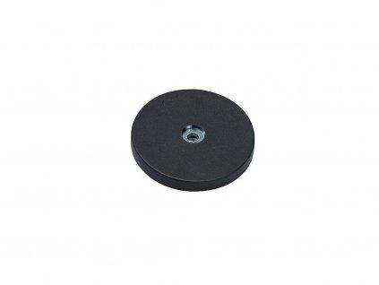 Neodymový magnet plastový s pogumovanou dotykovou plochou