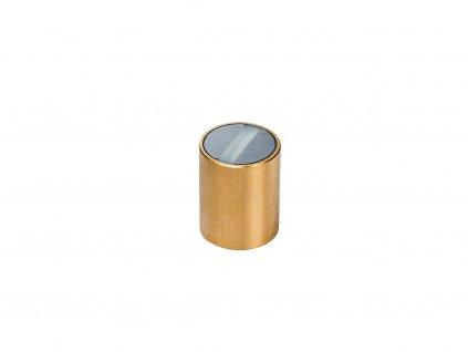 Samariová magnetická šošovka mosadzná s toleranciou h6 10x20 mm