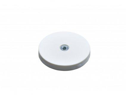 6894 3 neodymovy pogumovany magnet s vnitrnim zavitem 66x8 5 mm