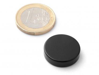 Neodymový magnet valec D20x5 mm, Neodym, N42, poteflonovaný