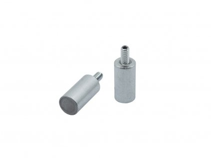 4812 4 alnico magneticka cocka valcova s vnejsim zavitem 20x25 mm