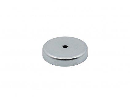 4996 6 feritova magneticka cocka se stredovou dirou 57x6 5x11 mm