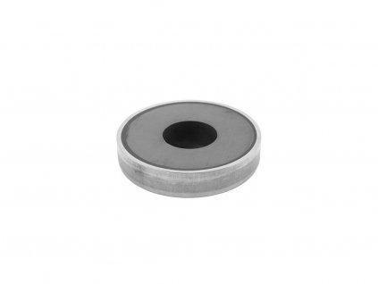 5052 5 feritova magneticka cocka nerezova se stredovou dirou 63x6 5x14 mm