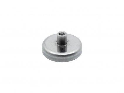 5114 3 feritova magneticka cocka nerezova se zavitovym pouzdrem 25x16x7 mm