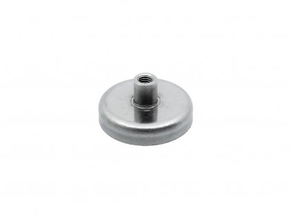 5122 3 feritova magneticka cocka nerezova se zavitovym pouzdrem 63x22x14 mm