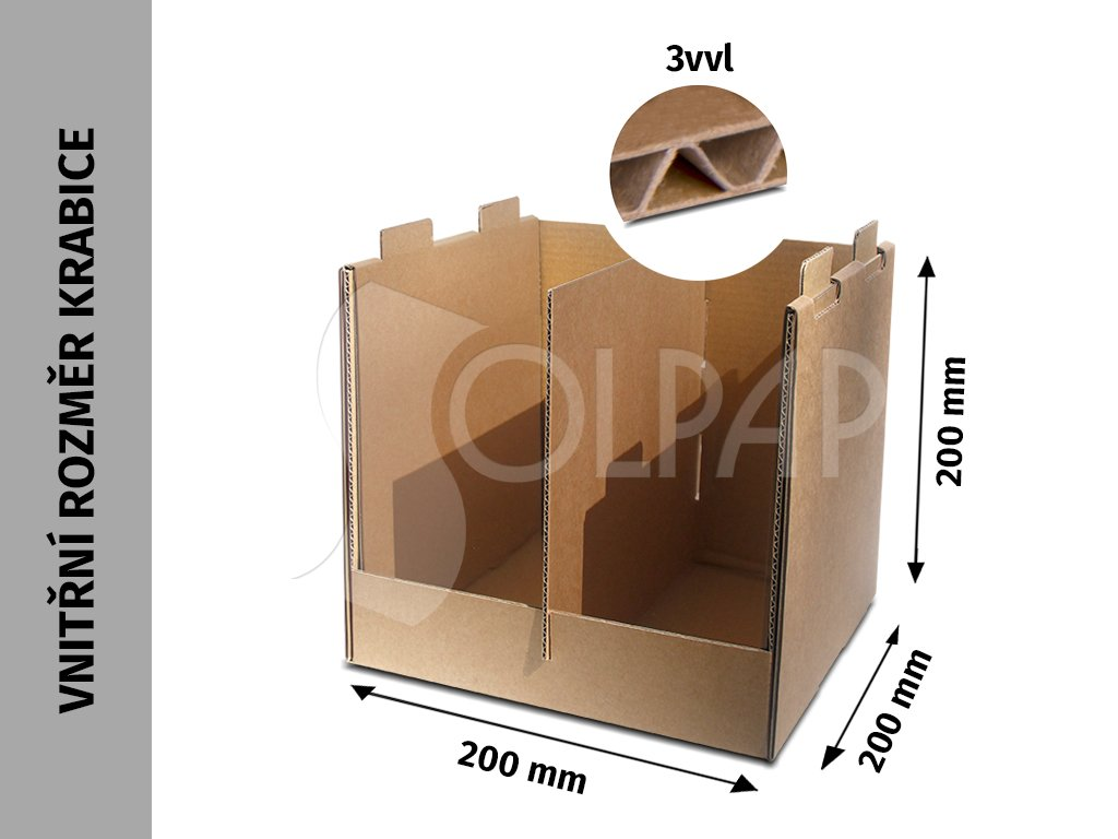 display 200x200x200mm