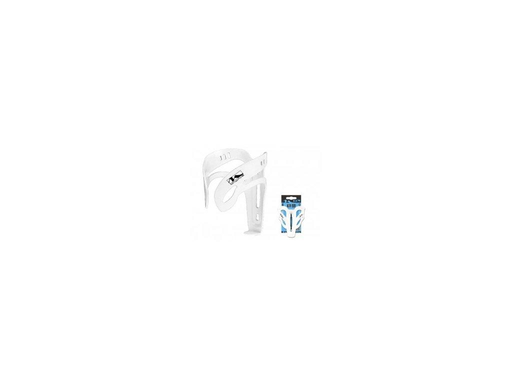 Košík na láhev dural, M-WAVE, bílý
