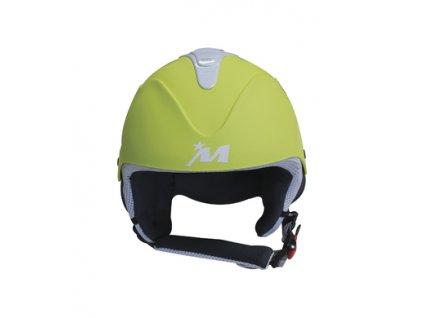 Lyžařská helma MIVIDA Rewind Solid - limetková