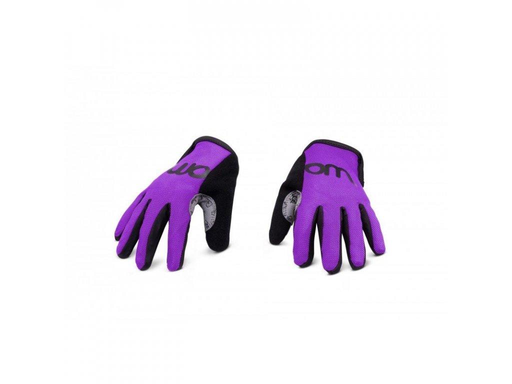 WOOM 5 rukavice purple haze