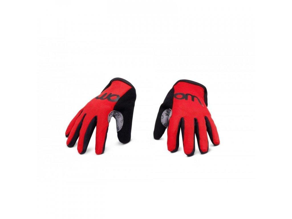 WOOM 6 rukavice red