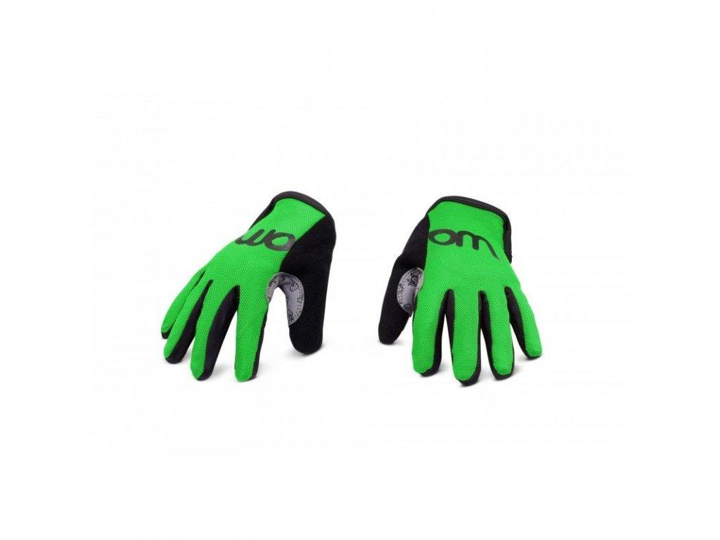 WOOM 7 rukavice green