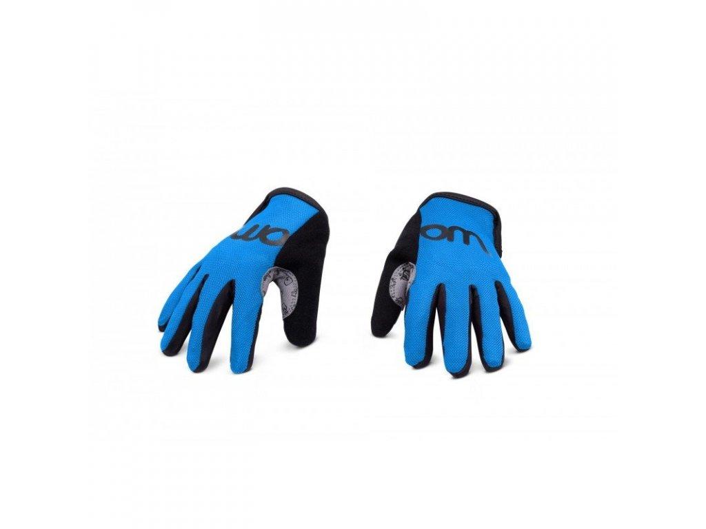 WOOM 7 rukavice sky blue
