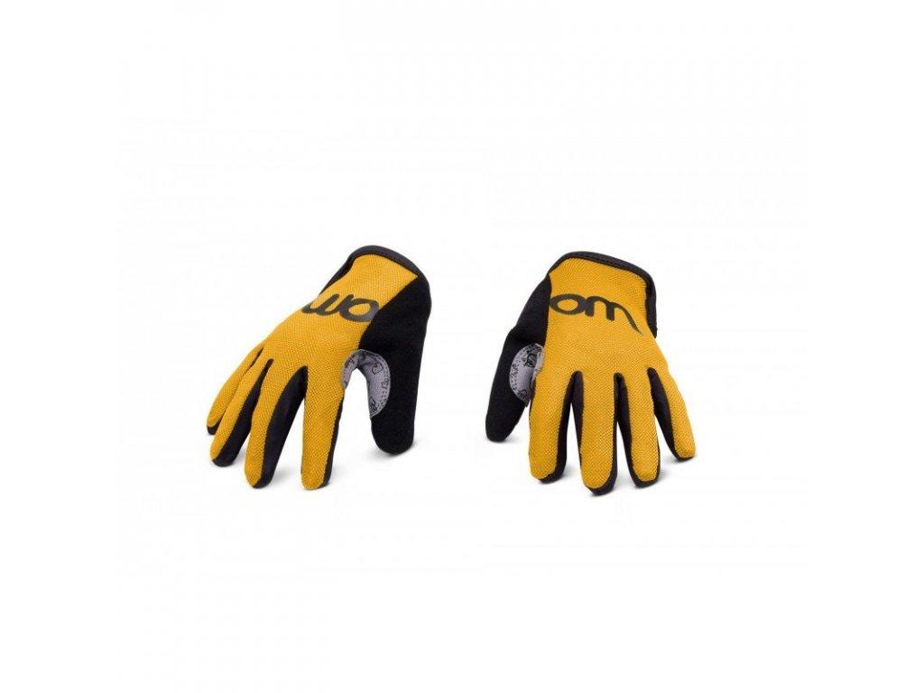 WOOM 7 rukavice sunny yellow