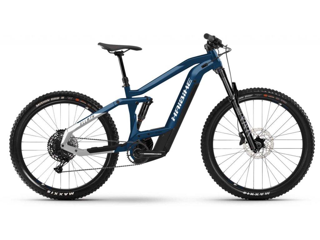 "Haibike Xduro AllMtn 3.0 / Bosch - MTB 29""/27,5"" /2021 (Barva Modrá, Velikost kol 27,5""/29"", Velikost rámu XL (182-195 cm))"