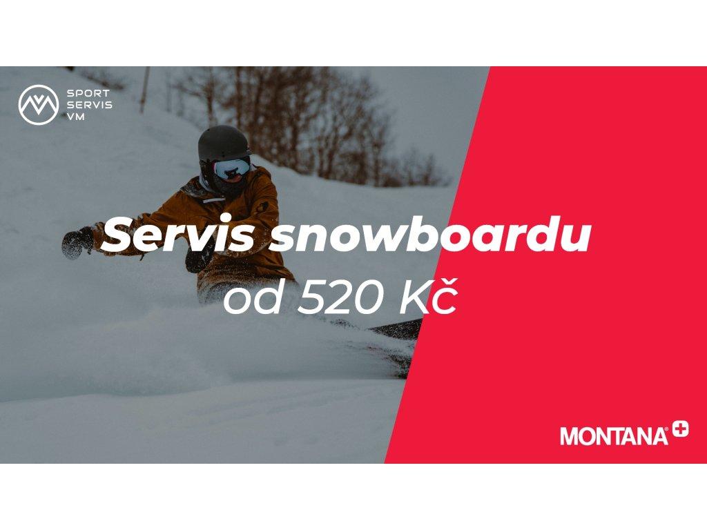 servis snowboardu
