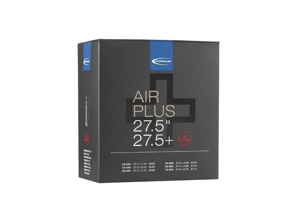 """Schwalbe Air Plus 27,5"""" duše 54-70/584 galuskový ventil"""