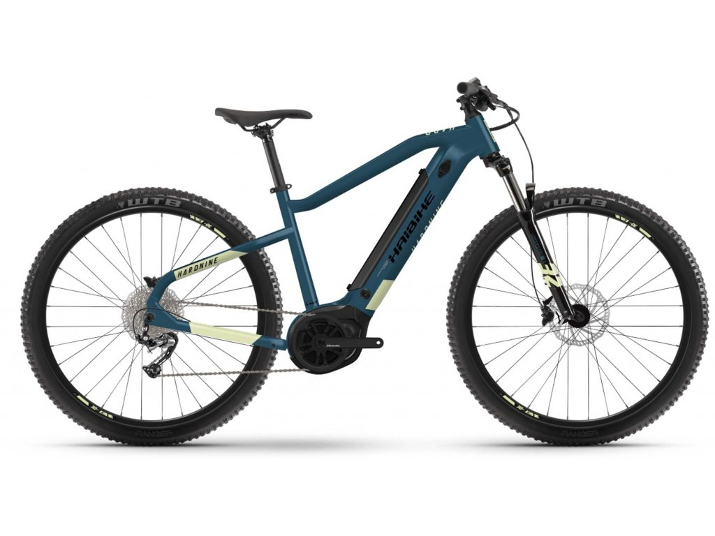 "Haibike Sduro HardNine 5.0/ Bosch - MTB 29"" /2021 (Barva Modrá, Velikost kol 29"", Velikost rámu XL (182-195 cm))"