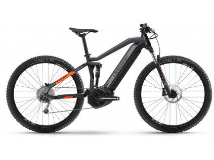 "Haibike Sduro FullNine 4.0/ Yamaha - MTB 29"" /2021 (Barva Šedá, Velikost kol 29"", Velikost rámu XL (182-195 cm))"