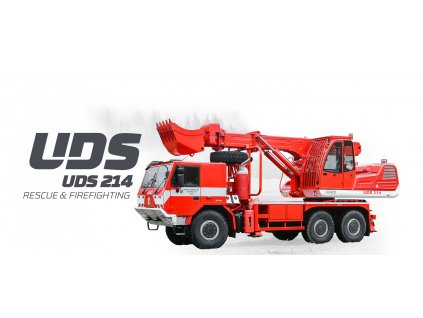 UDS 214firefighting head
