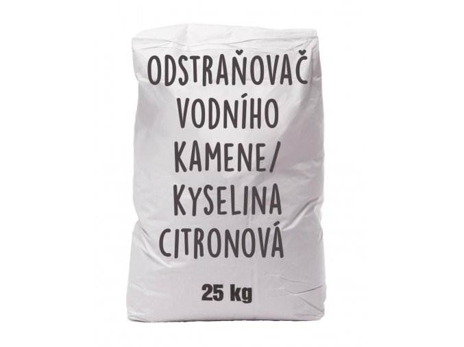 odstranovac vodniho kamene kyselina citronova pap pytel 25 kg 07120 0001 bile samo w
