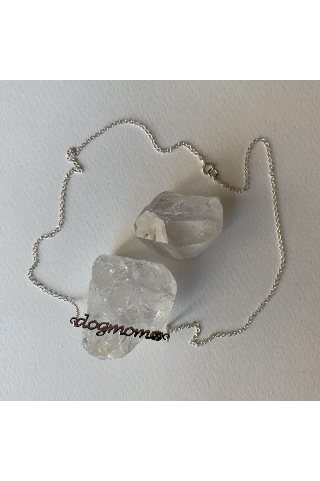 náhrdelník Dogmom stříbrný