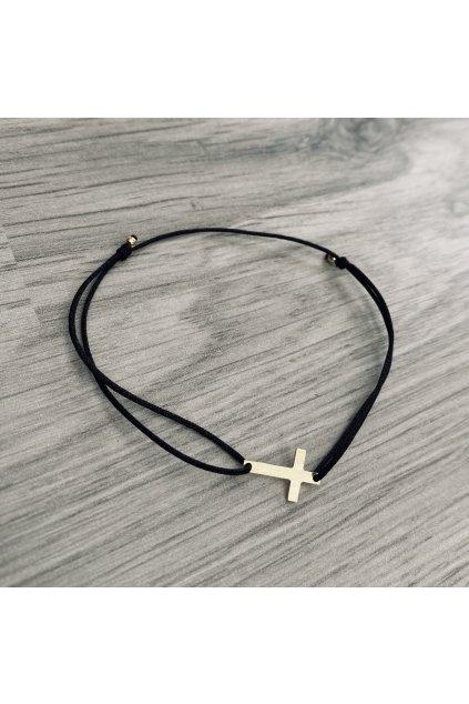dámský náramek křížek