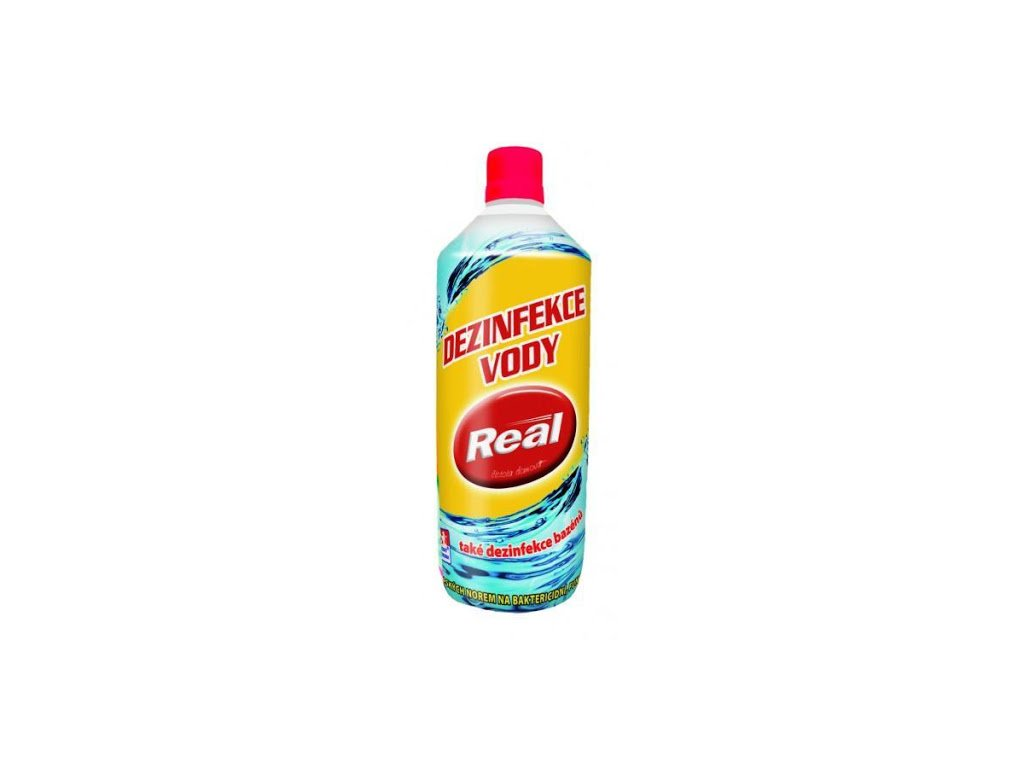 Real - Desinfekce vody Real, 1l