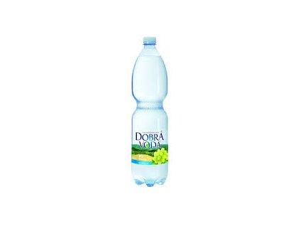 Dobrá voda neperlivá limo 1,5 l - bílý hrozen