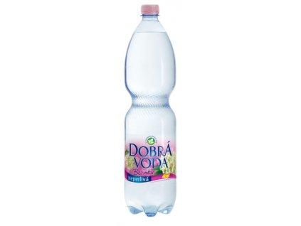 Dobrá voda neperlivá limo 1,5 l - bezinka