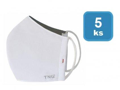 Rouška antibakterialní  TNG - vel. L (5ks/bal)
