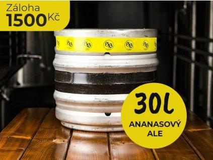 NEREZOVÝ KEG / ANANASOVÝ ALE 30l