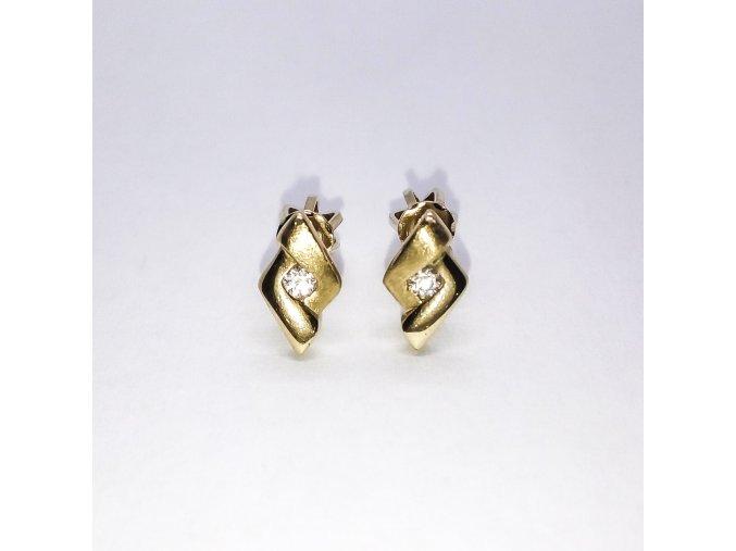 Zlaté náušnice 184-67